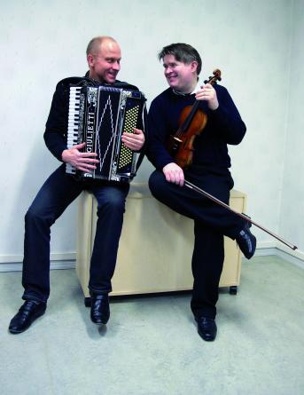 Erik Brander ja Jonas Hirvelä